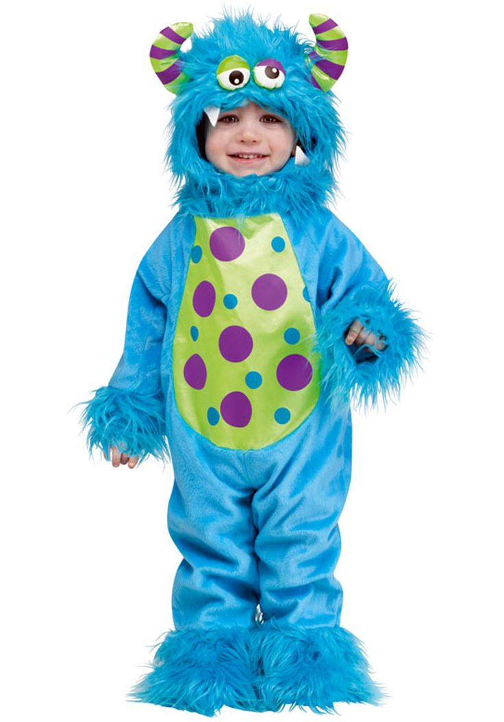 shop for baby and toddler halloween fancy dress at totally fancy li l monster toddlers costume blue years also available in our toddlers range include