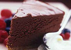 Cheese-cake au chocolat