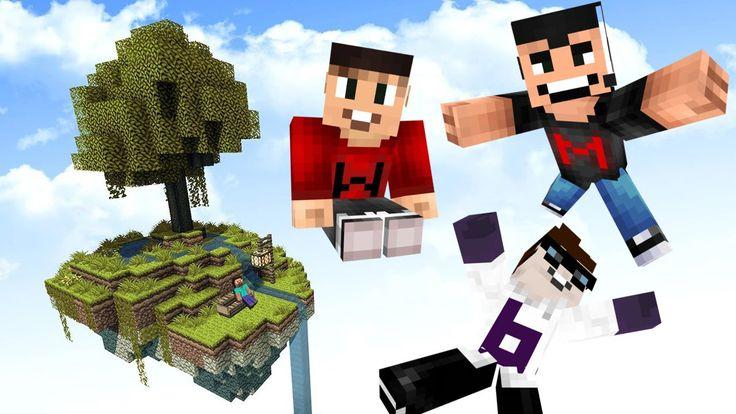 FLOATING ISLAND PARADISE | Drunk Minecraft #67