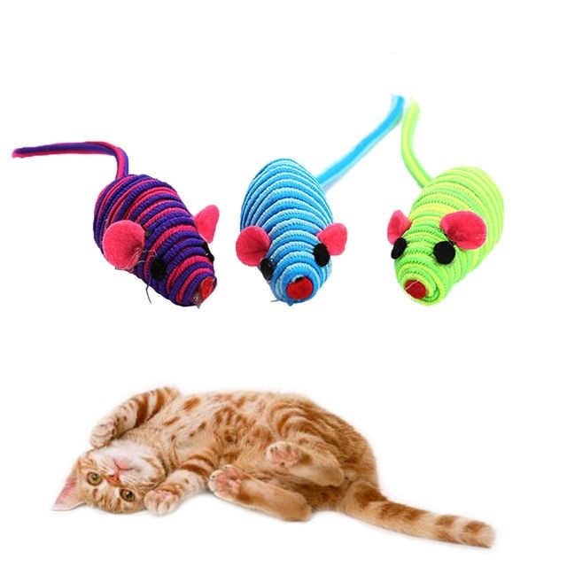2018 New Cat Gift Toys Animal Design Funny Rat Toys For Cat Pet