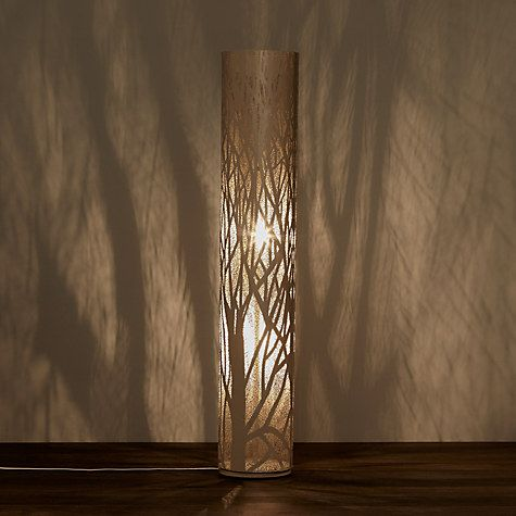 Buy John Lewis Devon Floor Lamp, Taupe Online at johnlewis.com