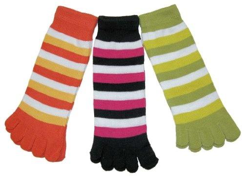 RSG Hosiery Funky Striped Toe Socks Kids/Children/Toddler « Clothing Impulse