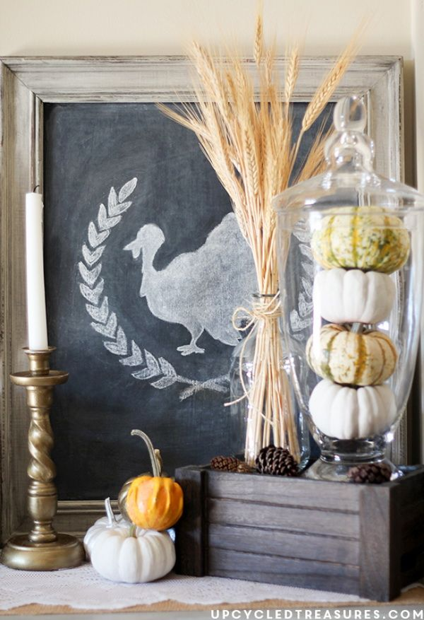 25 Homely Elements To Include In A Rustic Décor: Best 25+ Rustic Thanksgiving Decor Ideas On Pinterest
