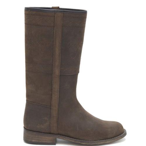 Bruine Halfhoge laarzen Dames Laarzen | KLEDING.nl