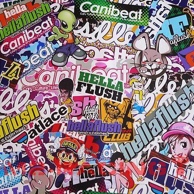 12 x60 jdm usdm hellaflush illest graffiti stickerbomb vinyl wrap sticker decal streetart. Black Bedroom Furniture Sets. Home Design Ideas