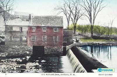 Mill Pond Falls Durham Oh New Hampshire Pinterest