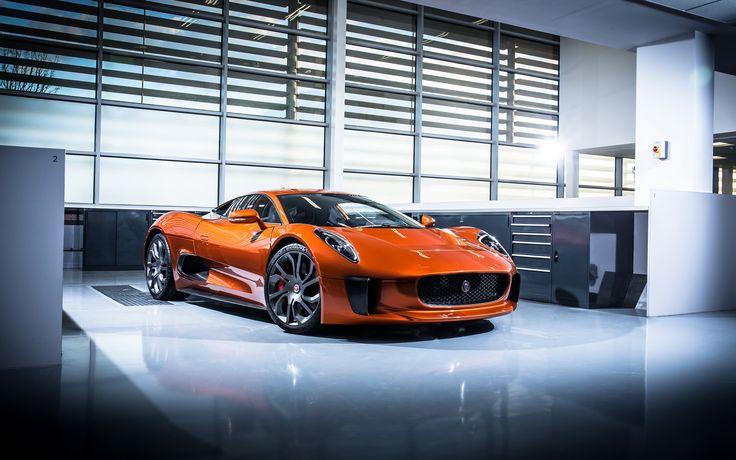 Jaguar-Land Rover Unveils Spectre Movie Cars In Frankfurt
