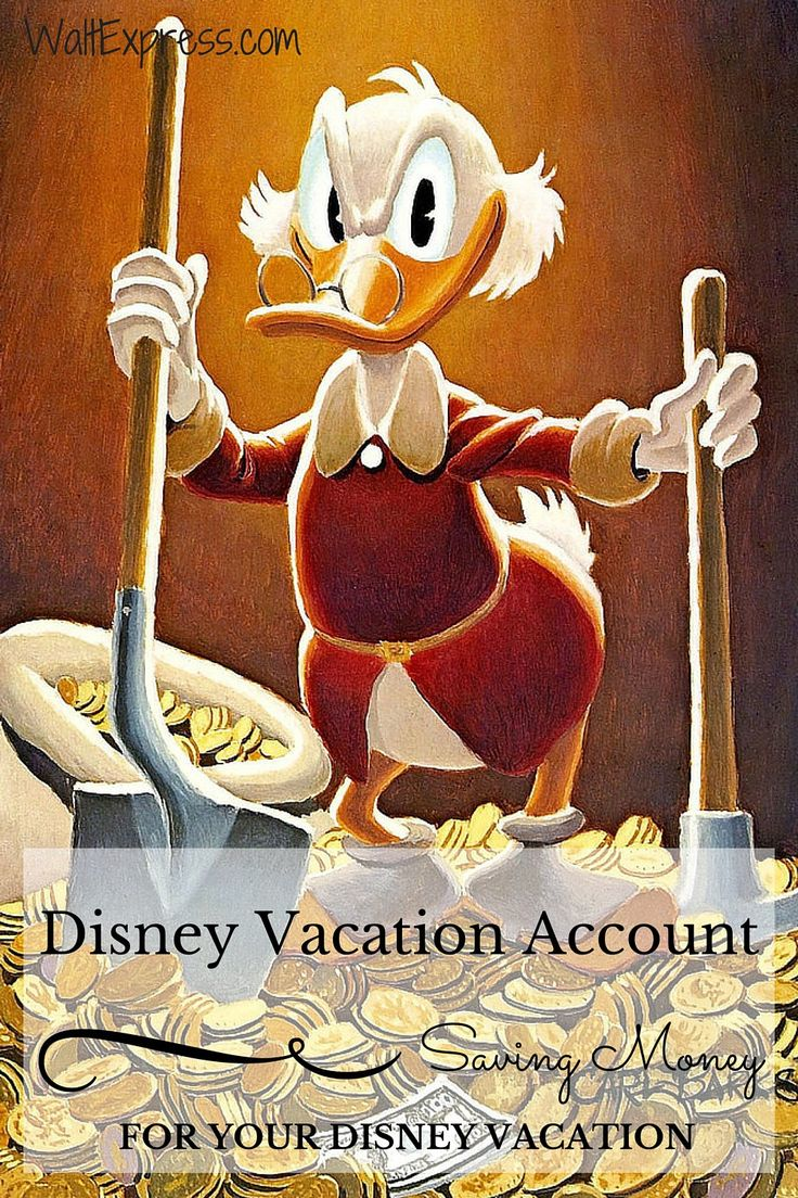 Disney Vacation Account: Saving Money for Your Disney Vacation! PIN NOW READ LATER! #Disney #DisneyCharacters #Saving