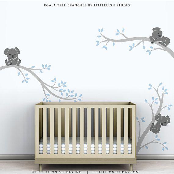 Baby Boys Wall Decal Tree Wall Sticker Decal Kids By TheKoalaStore Part 67