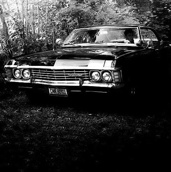 baby 1967 chevy impala supernatural my dream car. Black Bedroom Furniture Sets. Home Design Ideas