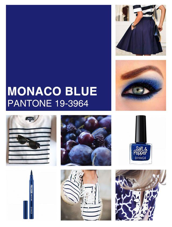 #Coloroftheweek Pantone 19-3964 Monaco Blue: un blu intenso e senza tempo che non passa mai di moda. Perfetto abbinato a delle righe per uno style navy informale, divino per un lungo da sera.