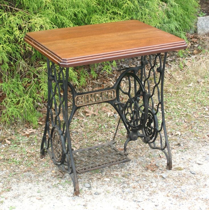 25 unique sewing machine tables ideas on pinterest singer table old sewing machine table and. Black Bedroom Furniture Sets. Home Design Ideas