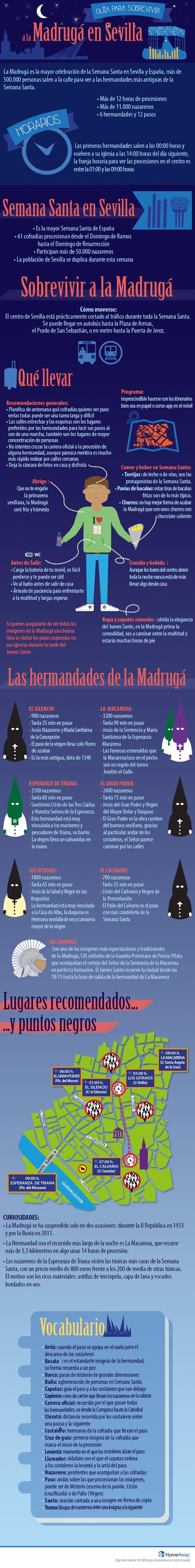 La Madrugá de Sevilla - Semana Santa sevillana 2016