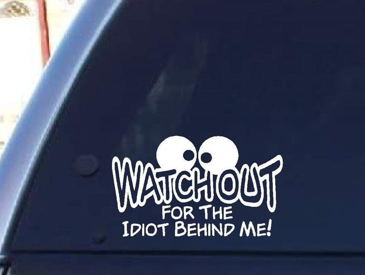 Best Funny Car Window Stickers Images On Pinterest Funny - Funny decal stickers for cars