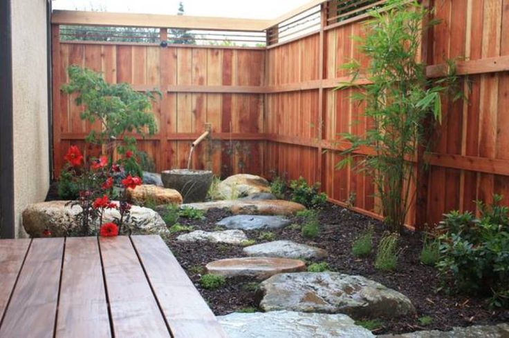 Garden And Lawn , Best Courtyard Garden Designs : Japanese Courtyard Garden Designs With Water Feature
