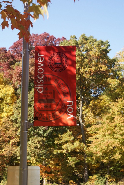 Southwestern Michigan College, October 2012, Banners, via Flickr.
