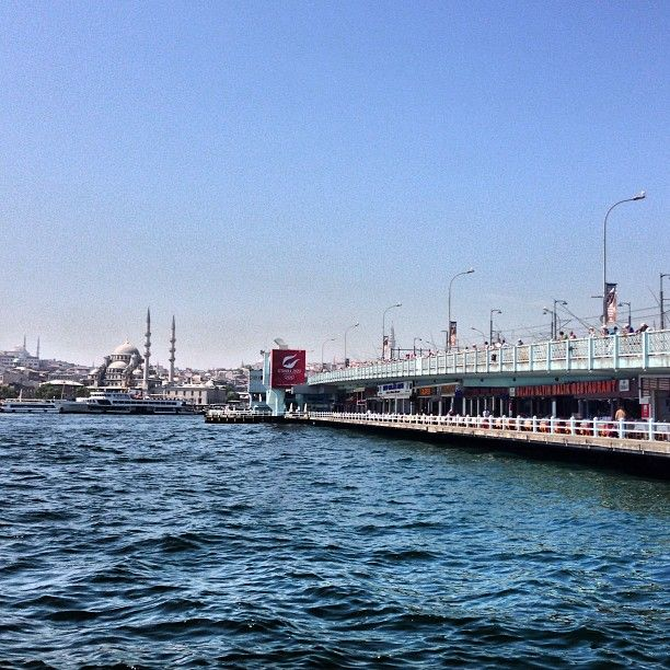 Galata Köprüsü in İstanbul