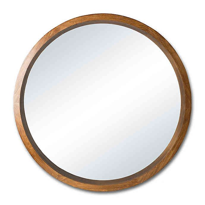 Circulus 29 5 Inch Round Round Wall Mirror Bed Bath Beyond