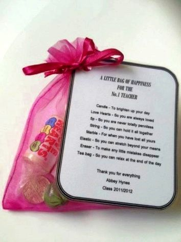 """Personalised /""""A Little Bag of Happiness/"""" Tags"""