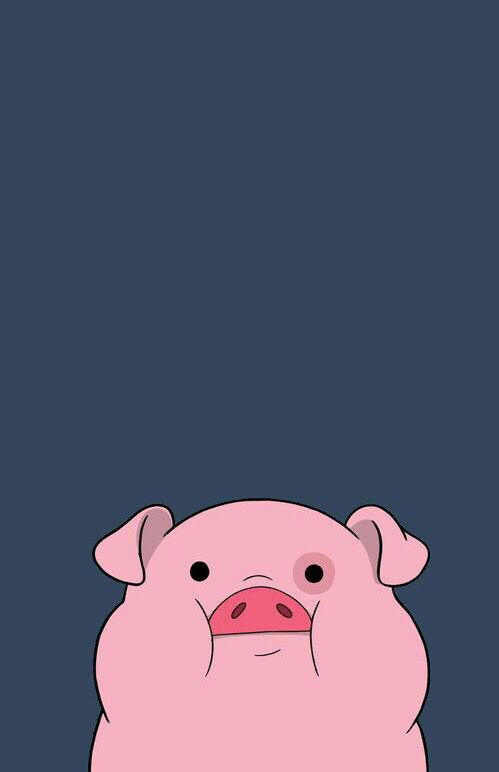 blue, cute, disney, fondos, gravity falls, likes, pato, pig, pink, sets, wallpaper, backaground