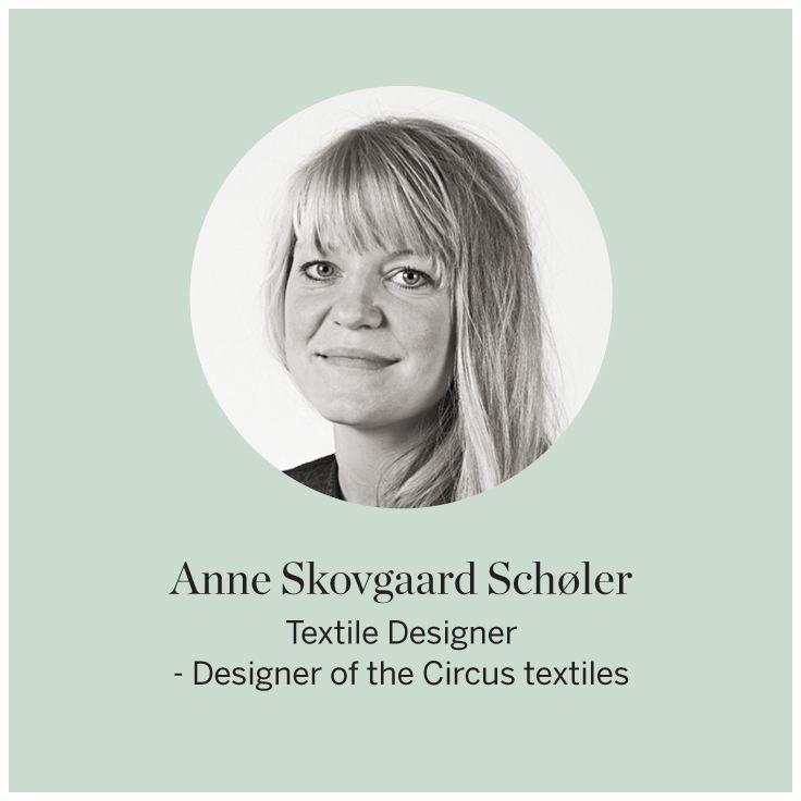 Designer Anne Skovgaard Scholer #FLEXA #Designers #Circustextiles #art #kids