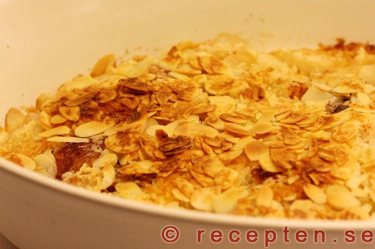 GI-Äppelpaj - Recept på GI-Äppelpaj. Jättegod och hälsosam efterrätt som går snabbt att göra och är lätt att variera.