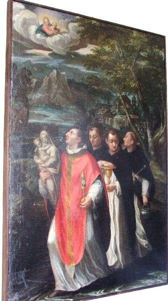 Włochy. Piacenza. Nieznana kolekcja obrazów przedstawiających św. Jacka (M) - Swięty Jacek Odrowąż