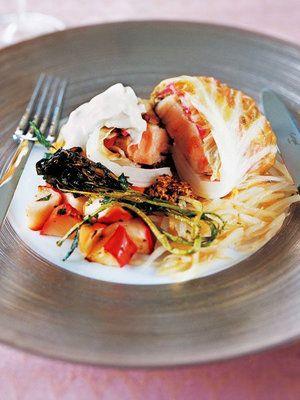 【ELLE a table】豚肉のザワークラウト風キャベツ包みレシピ|エル・オンライン