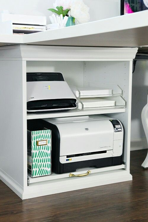 I Want Printer On Shelf Rather Than In Drawer Or Cupboard