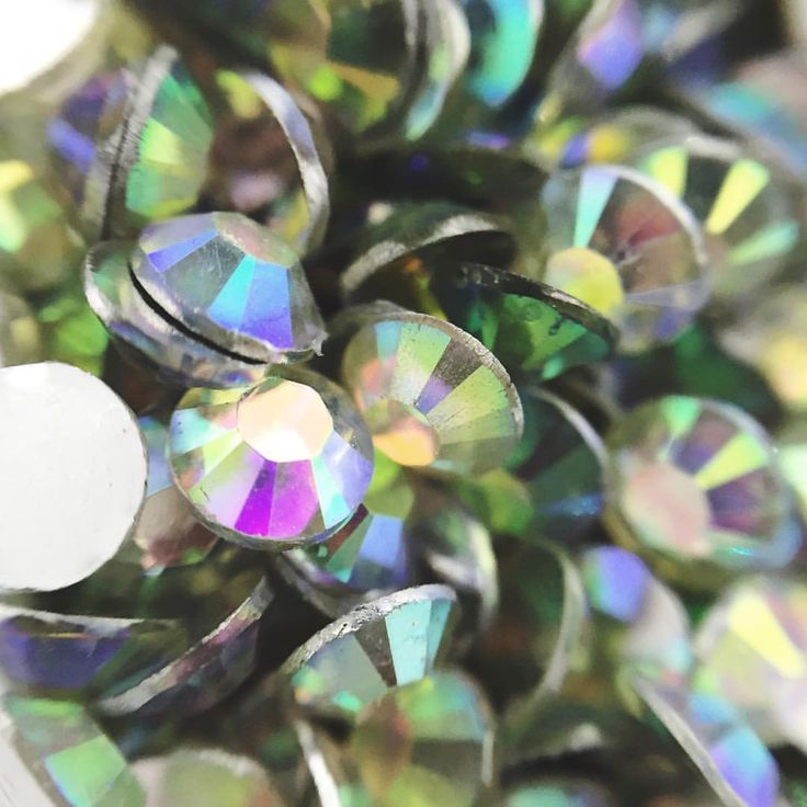 """30 Likes, 2 Comments - AURA Nail Co. (@aura_nail_co) on Instagram: """"Macro shots of our rhinestones ✨💗"""""""