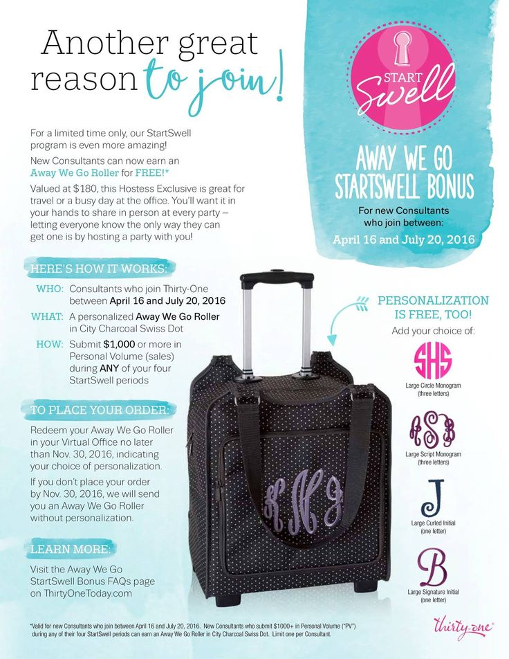 17 Best Images About Thirty One Away We Go Roller On Pinterest Vacations Client Gifts And