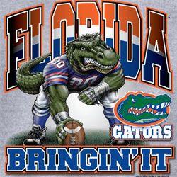 Florida+Gators+Football | Florida Gators Football T-Shirts - Bringin It - Three Point Stance