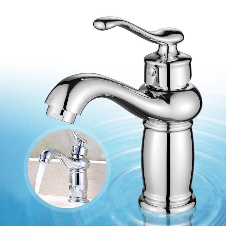 Retro Badarmatur Waschtisch Armatur Mischbatterie Wasserhahn Einhebelmischer Neu