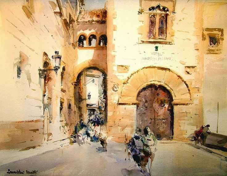 Laurentino Marti, 1946 ~ Watercolor painter