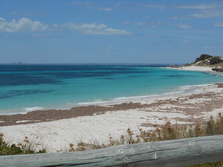 One of the many beaches on Rottnest Island, possibly Bickley Bay ?