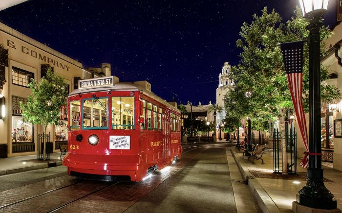 Machen Sie Platz für Marvel Land … Disneylands Red Car Trolley bis 2020 geschlossen – Alle …