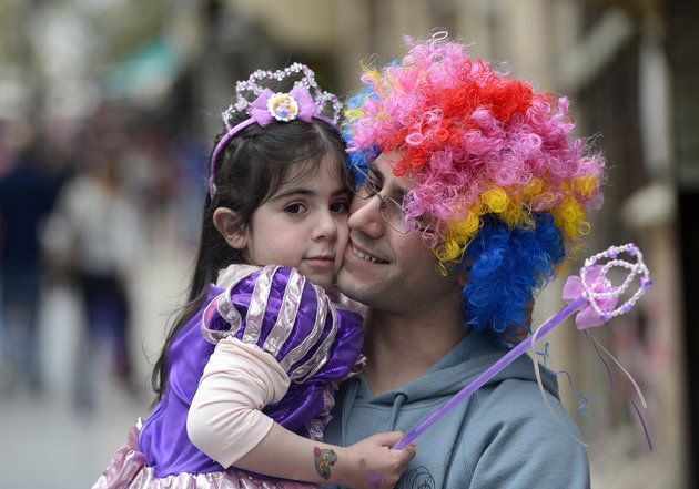 Purim is a boisterous feast for many Jewish people around the world.