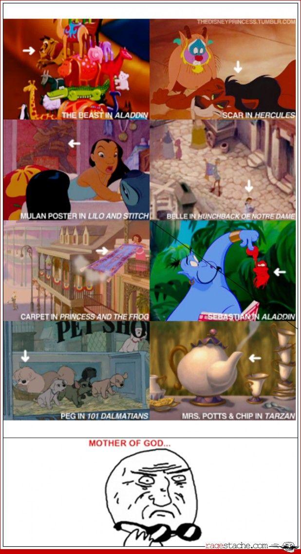 Mother of god.: Disney Movies, Disney Secret, Mind Blown, Mindblown, Funny, Easter Eggs, I Love Disney, Disney Character, Disney Fun
