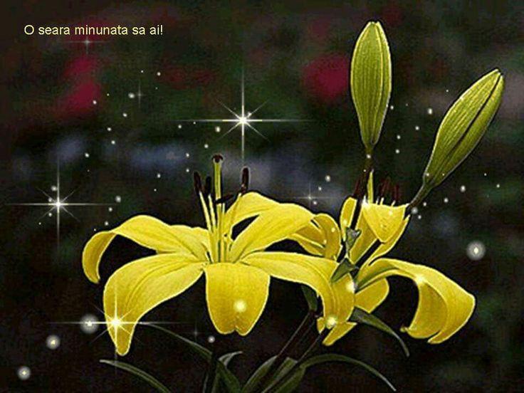 Открытки, картинки цветы лилия анимация