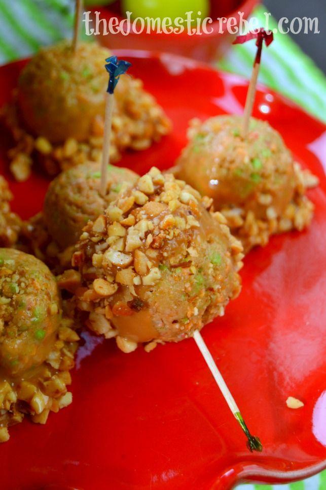 Caramel Apple Jack Snickerdoodle Pops