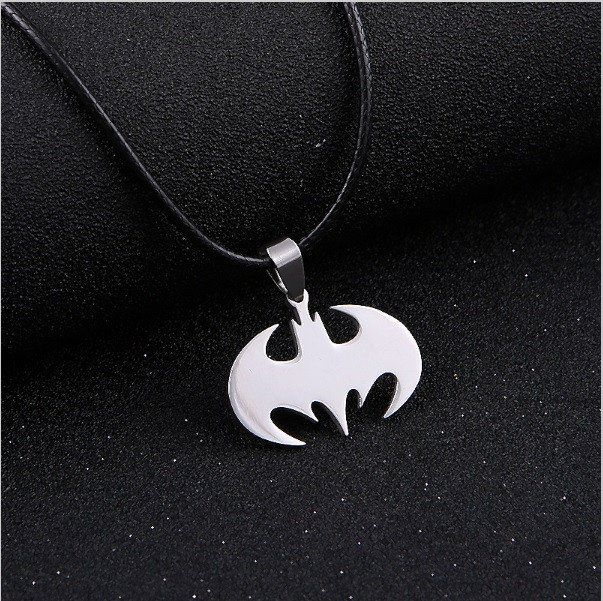 Batman Bat Silver Necklace – The Cynical Clique