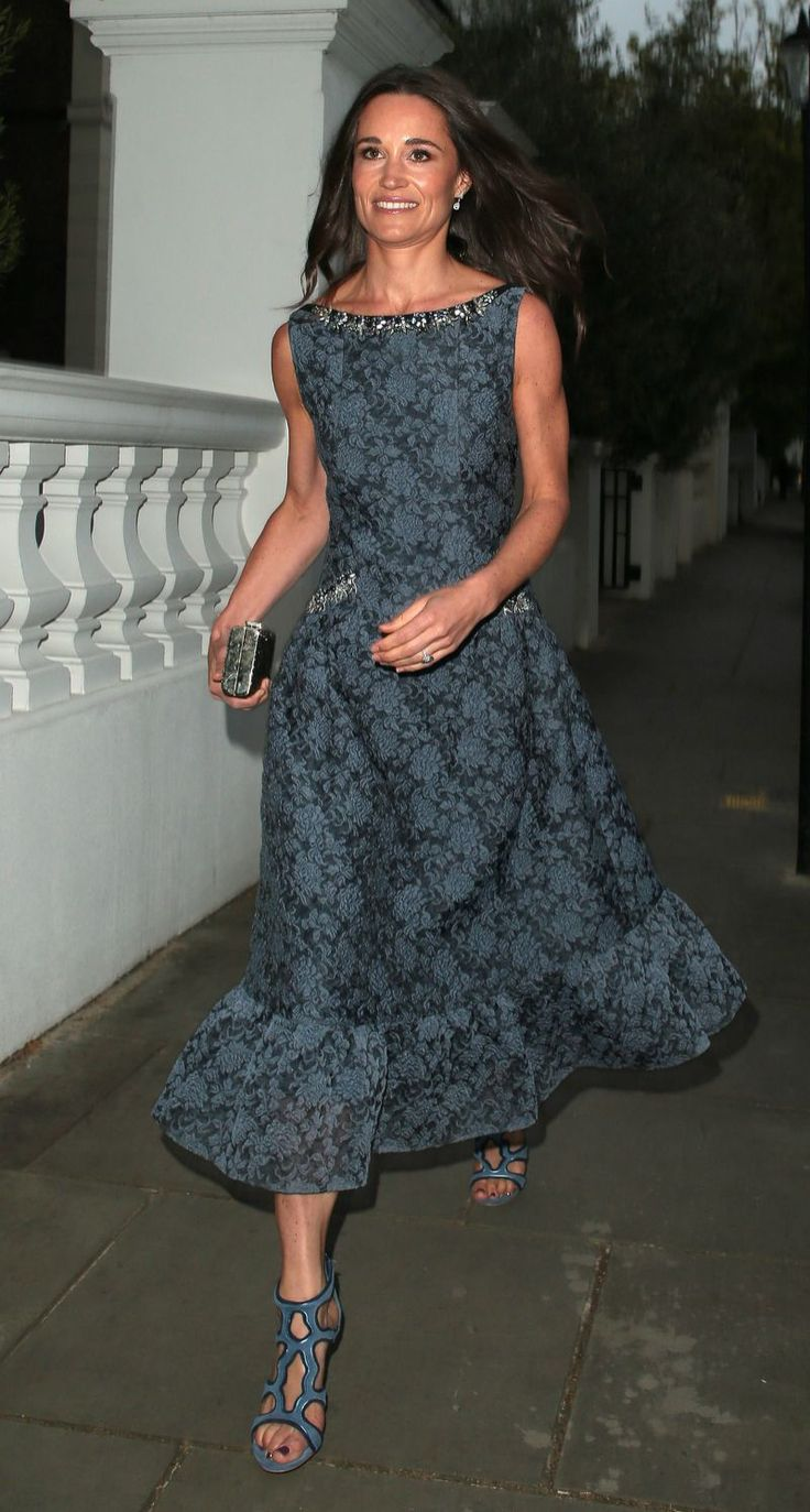 Pippa Middleton Shows Off Toned Arms in Chic Gown Weeks Before Her Wedding -- See the Pic!