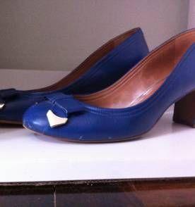 Sapato Scarpin Arezzo Azul