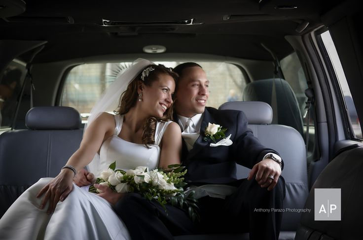 This is the first alone moment that the newly wed couple has after the ceremony