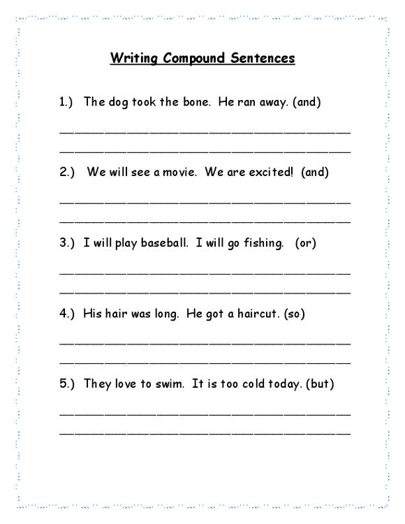 Complex Sentence Worksheets 4th Grade Simple Pound Plex Sentences Worksheet 5th Gra Complex Sentences Worksheets Complex Sentences Types Of Sentences Worksheet