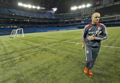 Rogers Centre rolls out green carpet for Toronto FC