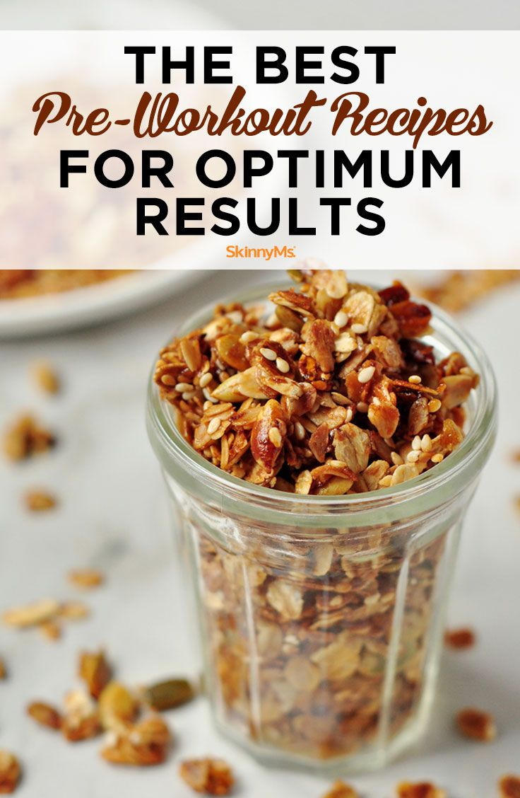 The Best Pre Workout Recipes For Optimum Results Weight Watcher