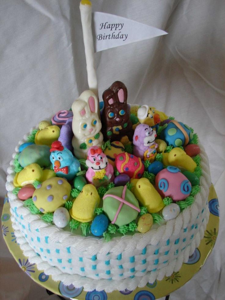 10 Best Easter Birthday Cakes Images On Pinterest Easter Cake