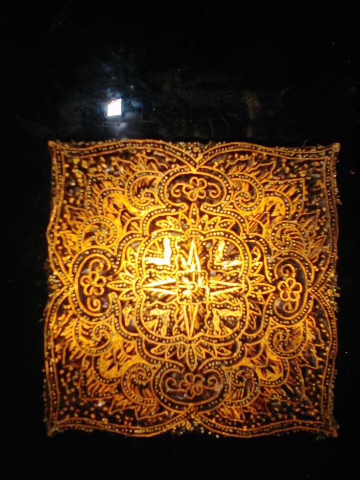 Cap Batik adalah alat untuk membuat motif batik pada kain dengan menggunakan malam/lilin dengan media semacam wajan (Loyang) yang dipanaskan.