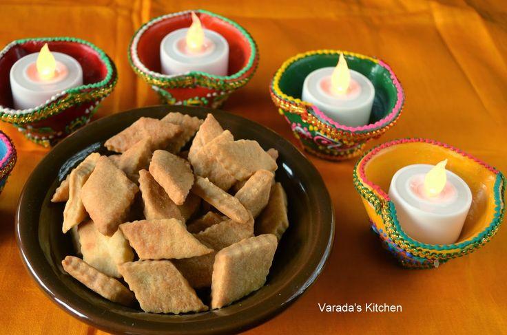 Varada's Kitchen: Baked Shankarpale